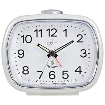 Acctim Camille Bell Alarm Clock 9.5 x 11cm