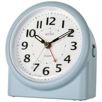 Acctim Smartlite Alarm Clock, Matt Blue (H12.3 x W10.9 x D7.8cm)