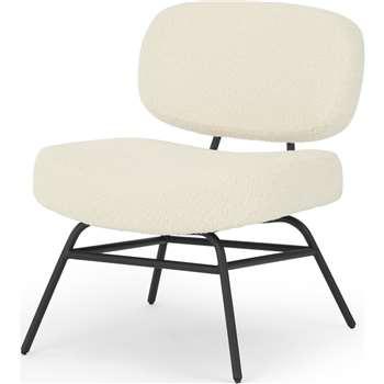 Ace Accent Chair, Sheepskin (H80 x W61 x D70cm)