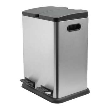 Addis 40 Litre 2 Compartment Recycling Bin 61 x 42cm