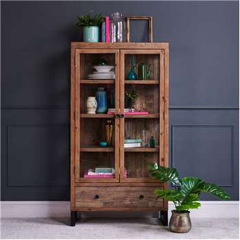 Adelaide Display Cabinet (H170 x W90 x D37.5cm)