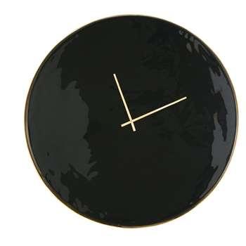 AIKO - Black and Golden Metal Clock (Diameter 80cm)