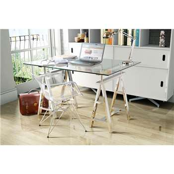 Aira Trestle - A frame - Desk only (78 x 150cm)