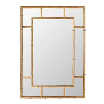 Airi Mirror - Antique Gold (100 x 71cm)