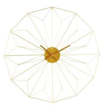 AKIMI Gold Metal Clock (Diameter 100cm)