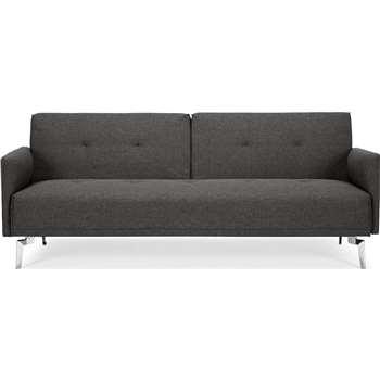 Akio 3 Seater Sofa Bed, Cygnet Grey (H82 x W199 x D86cm)