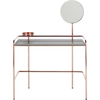 Alana Dressing Table, Copper (129 x 100cm)