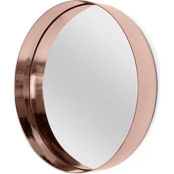 Alana Round Mirror, Copper (Diameter 50cm)