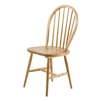ALBA Rubber Wood Vintage Chair (93 x 46cm)
