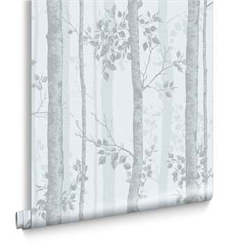 Albero Duck Egg Wallpaper (H1000 x W52cm)