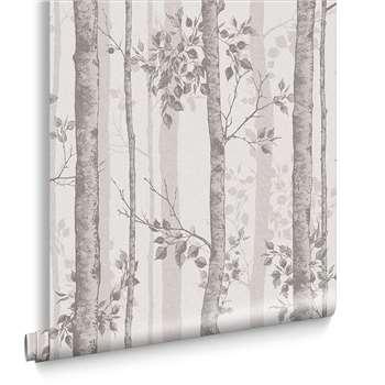Albero Taupe Wallpaper (H1000 x W52cm)