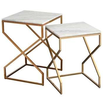 Alhambra Nesting Tables (H55 x W40 x D40cm)