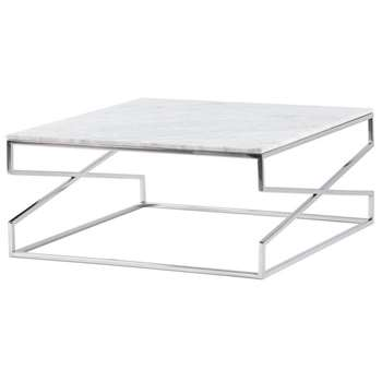 Alhambra Silver Coffee table (H35 x W80 x D80cm)