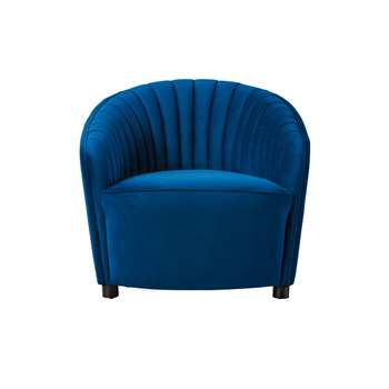 Alice Armchair - Navy Blue (H80 x W83 x D91cm)