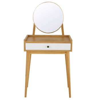 ALIX 1-Drawer Dressing Table (130 x 62cm)