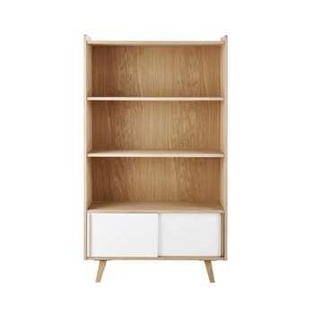 ALIX Wooden bookcase (167 x 95cm)