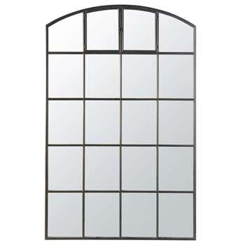 ALLEN Black Metal Mirror (H210 x W135 x D4cm)