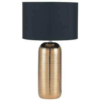 Allie Table Lamp Gold (H48 x W28 x D28cm)