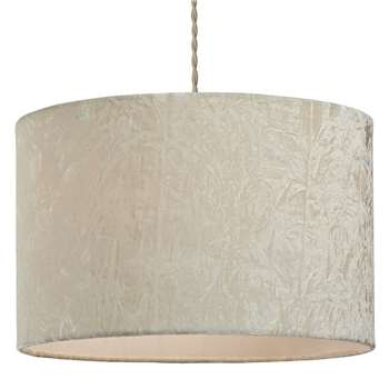 Allura Pendant Light Shade Cream (H23 x W35.5 x D35.5cm)