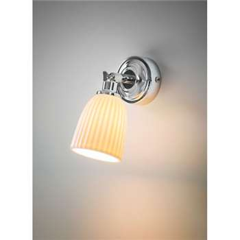 Alma Bathroom Spotlight - Ceramic (7.5 x 8cm)