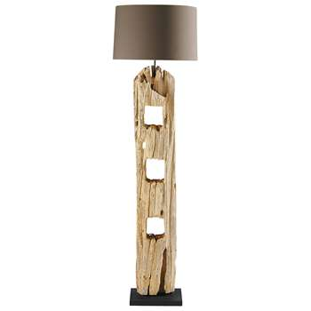 ALPAGES wood floor lamp, (170 x 48cm)