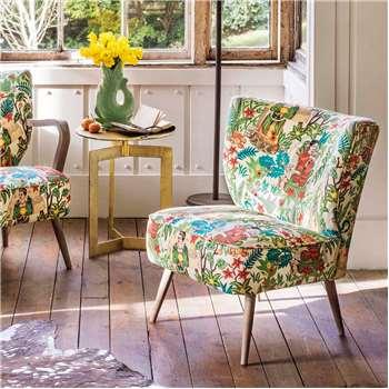 Alpana Mexicana Print Chair (H72 x W56 x D79cm)