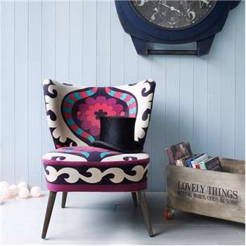 Alpana Suzani Chair (78 x 65cm)