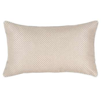 ALTENA - Grey Cotton Cushion Cover (H30 x W50cm)