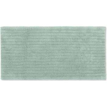 Alto Extra Long 100% Cotton Bath Mat, Soft Green (H50 x W110cm)