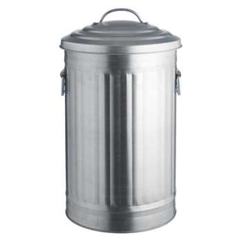 Alto Galvanized kitchen bin 32L