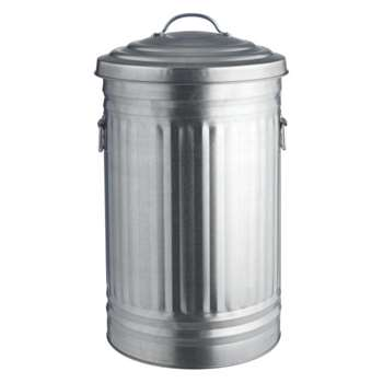 Alto Galvanized kitchen bin 52L