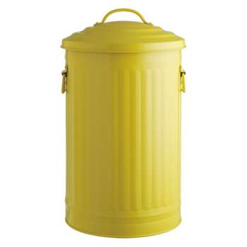 Alto Saffron yellow kitchen bin 32l