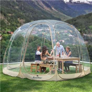 Alvantor Bubble Tent, 12-15 Person (H259 x W457 x D457cm)