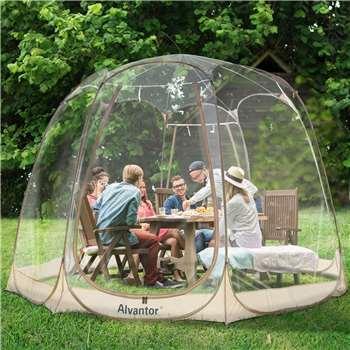 Alvantor Bubble Tent, 8-10 Person (H244 x W366 x D366cm)