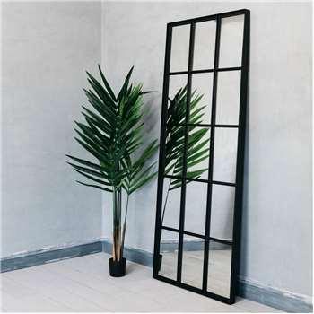 Amandine Fifteen Pane Mirror (H182 x W73cm)