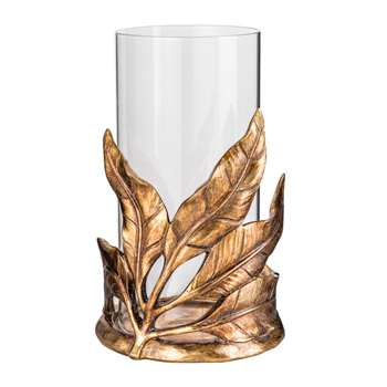 Amazonia Leaf Lantern - Medium (26 x 15.5cm)