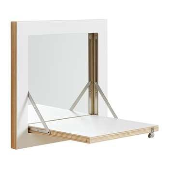 Ambivalenz - Flapps Vanity Mirror & Shelf (40 x 40cm)