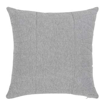 AMBRE - Ecru and Grey Cushion Cover (H40 x W40cm)