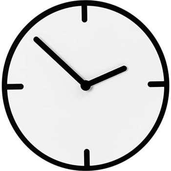 Ame Wall Clock, Black & White (31 x 31cm)