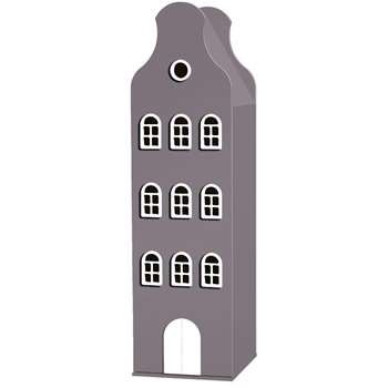 Amsterdam Bell Gable Wardrobe in Pastel Colours 198 x 55cm