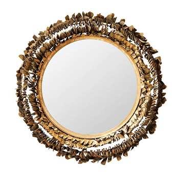 Anacapa Mirror - Antique Gold (72 x 72cm)