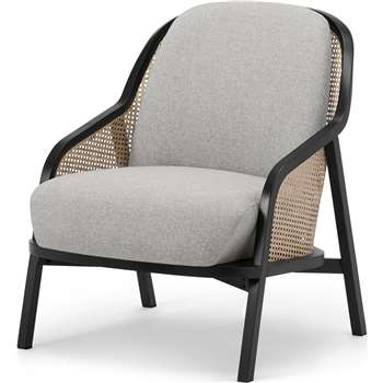 Anakie Accent Armchair, Mountain Grey (H80 x W70 x D78cm)