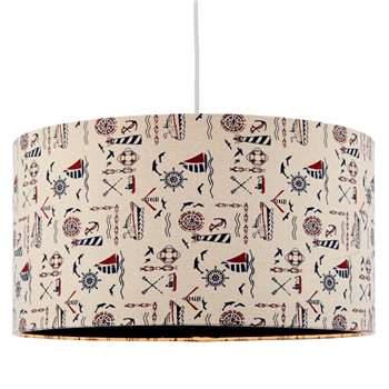 Anchor Pendant Light Shade (H22.5 x W40 x D40cm)