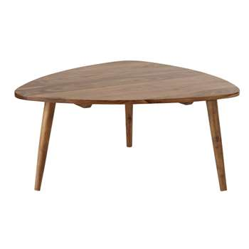 Andersen Solid Sheesham Wood Vintage Coffee Table (36 x 80cm)