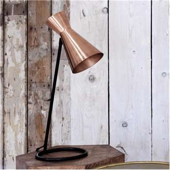 Angle Copper Desk Lamp (H67 x W21.5 x D26cm)