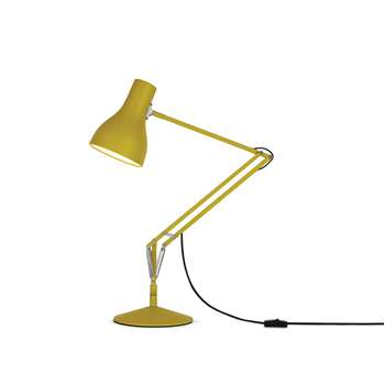 Anglepoise - Type 75 Desk Lamp - Margaret Howell - Yellow Ochre Edition (H19.2 x W14 x D14cm)