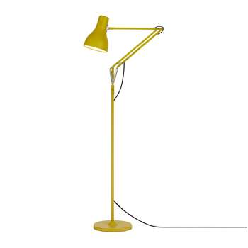Anglepoise - Type 75 Floor Lamp - Margaret Howell - Yellow Ochre Edition (H19 x W14 x D14cm)