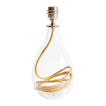 Anna Jacobs - Burnished Gold Flex Lamp Base - Small (Height 33cm)