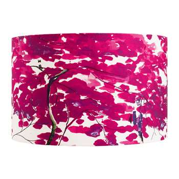 Anna Jacobs - Chinese Tree Lamp Shade - Pink/Violet - Large (H25 x W40 x D40cm)
