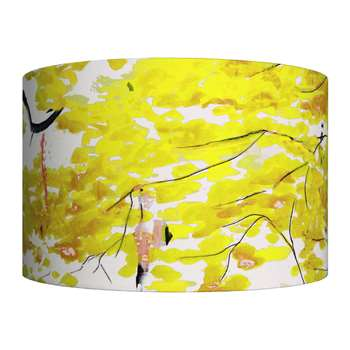 Anna Jacobs - Chinese Tree Lamp Shade - Yellow - Large (H25 x W40 x D40cm)